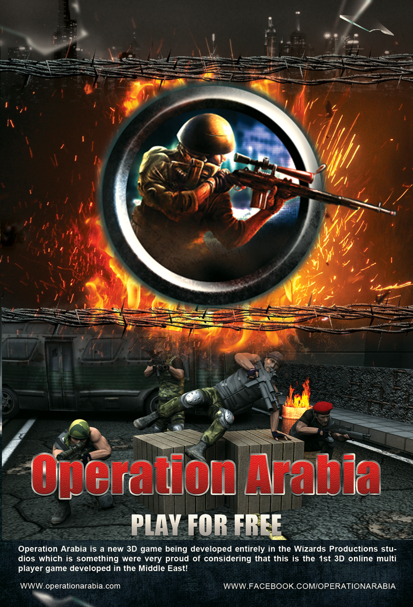 operation arabia poster - eng