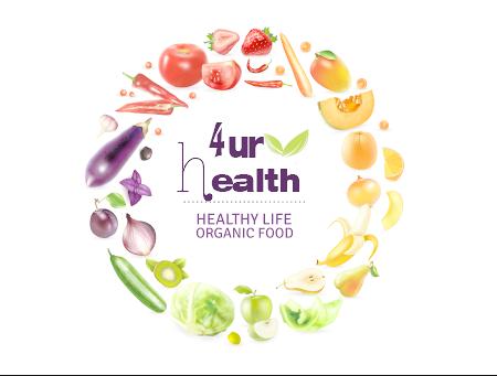 2-4health  ,, graphic design