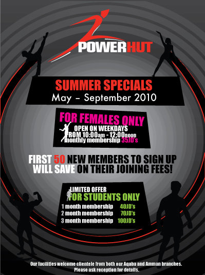 Powerhut Flyers