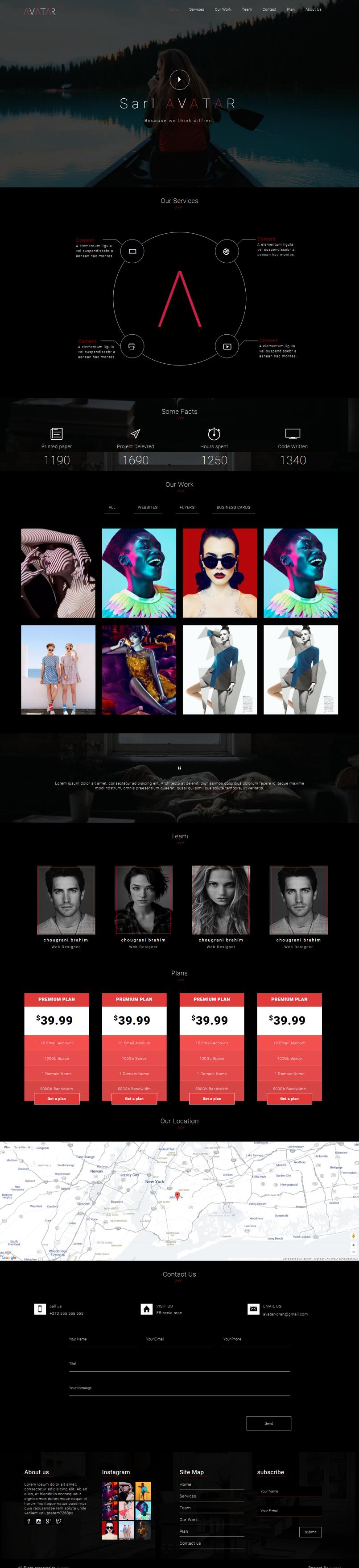 avatar template