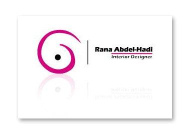 Rana Abdel Hadi - Interior Designer
