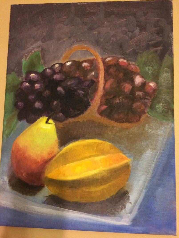 Still live painting