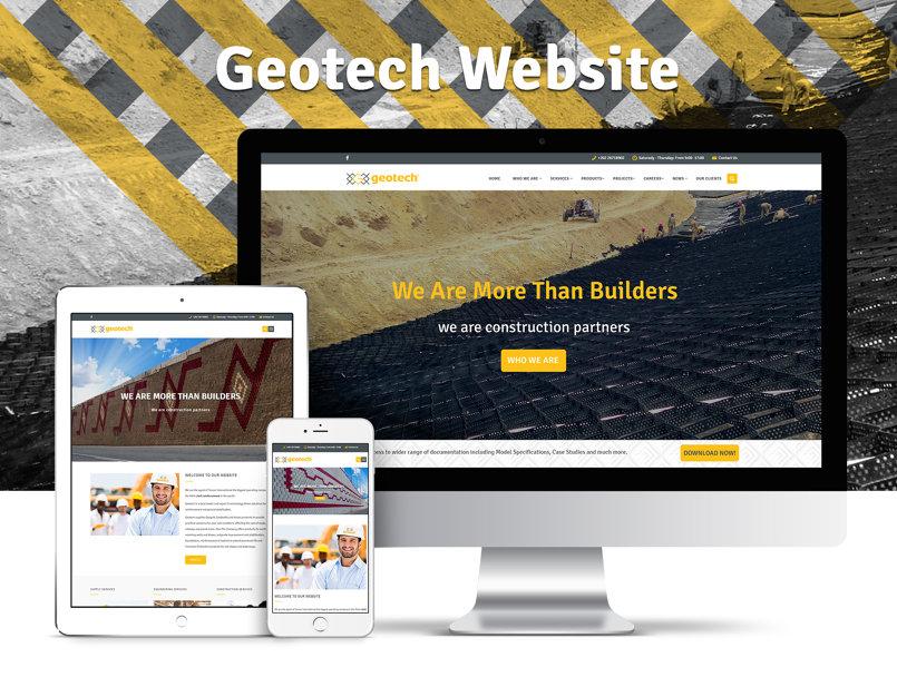 Geotech Website