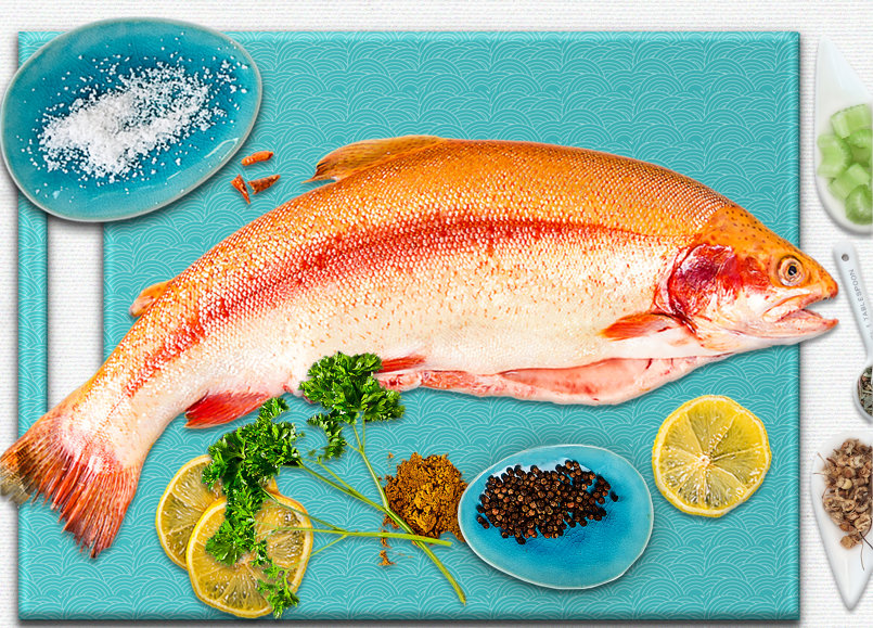 FISH Restaurant Branding