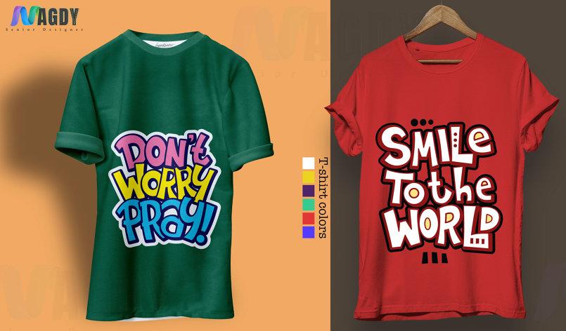 تصميم التي شيرت T-shirt design