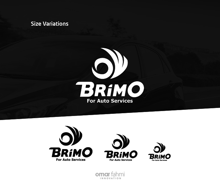 الهوية التجارية لمركز خدمة بريمو