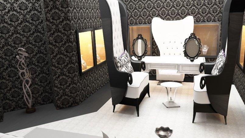 تصميم محل مجوهرات في منطقة راقية بتونس العاصمة