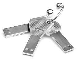 مفتاح usb على شكل مفتاح منزل