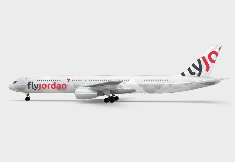 FlyJordan Branding