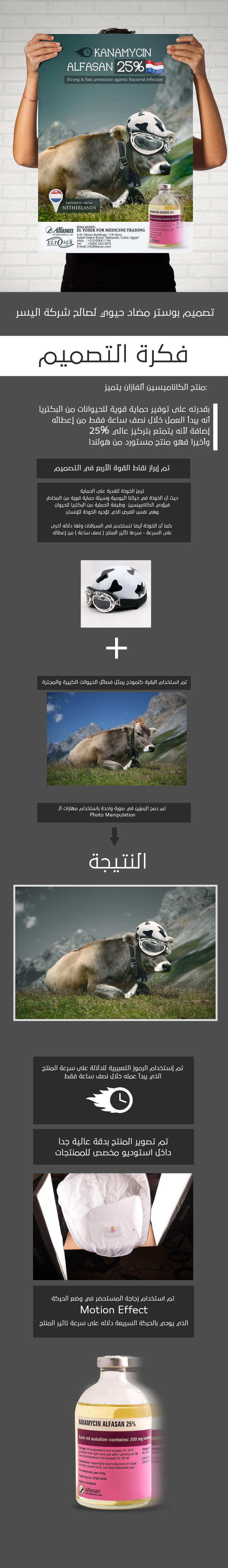 Kanamycine poster | for large animals