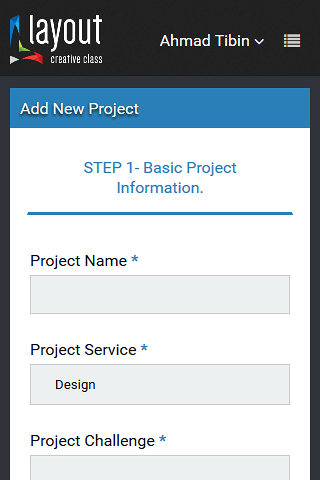 تصميم و تطوير نظام ادارة موقع Layout-Design