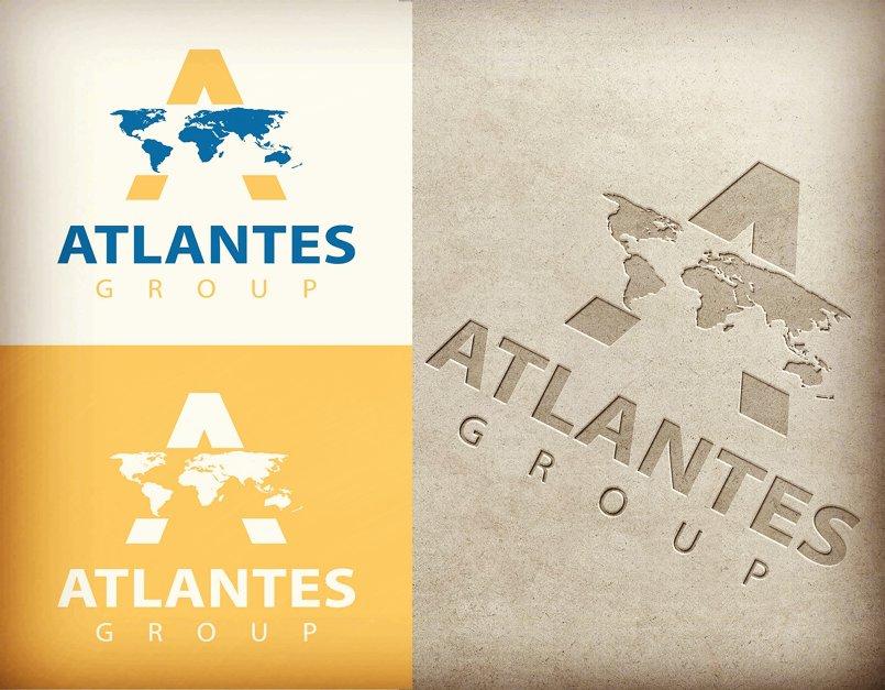 Atlantes Group Branding Design
