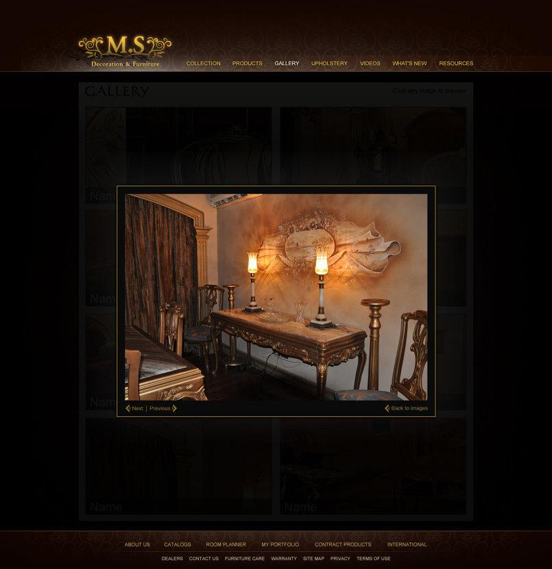 Mostafa Sharmy UI design for web