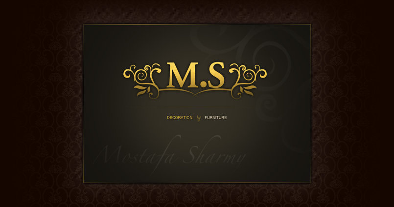Mostafa Sharmy UI design for web