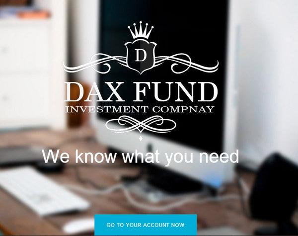 DaxFund.com Complete website