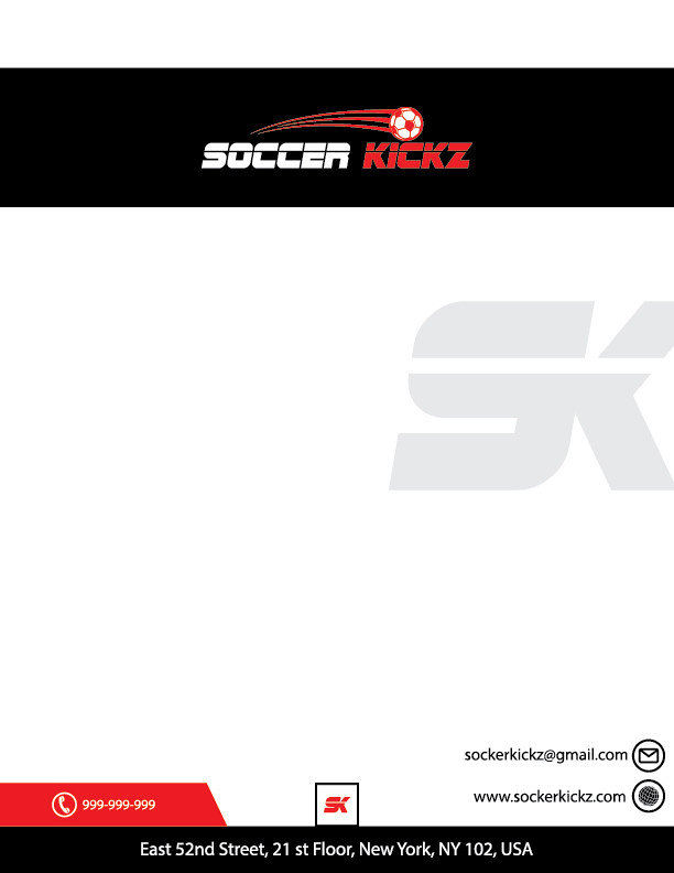 Develop a Corporate Identity for Soccer Kickz