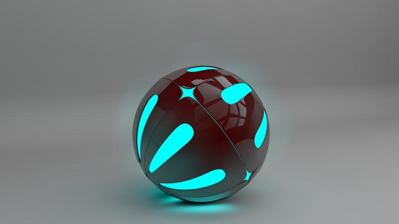 pokeball model  using Cinema 4d