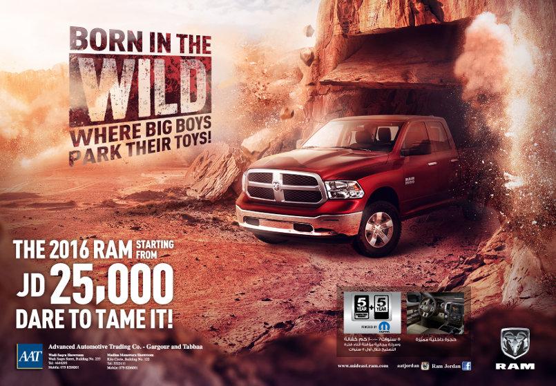 Dodge Ram wadi Rum