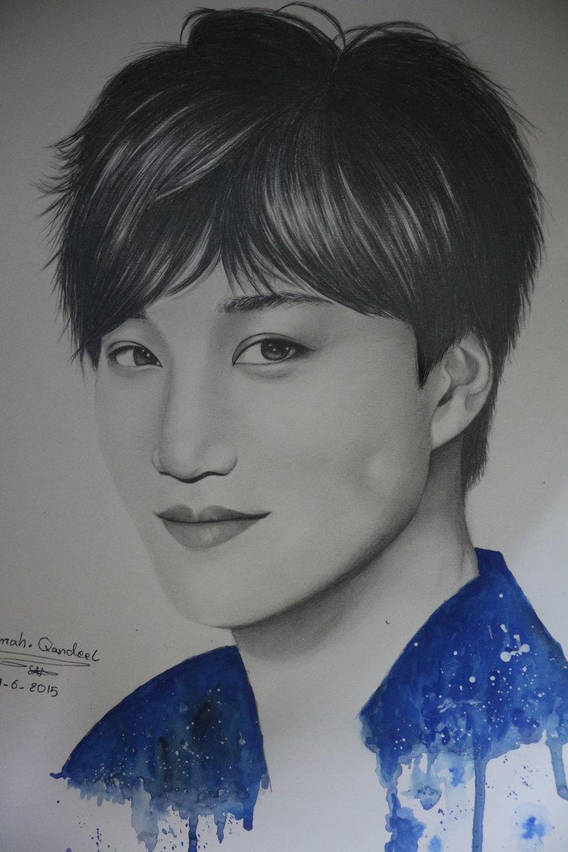 exo_kpop drawing