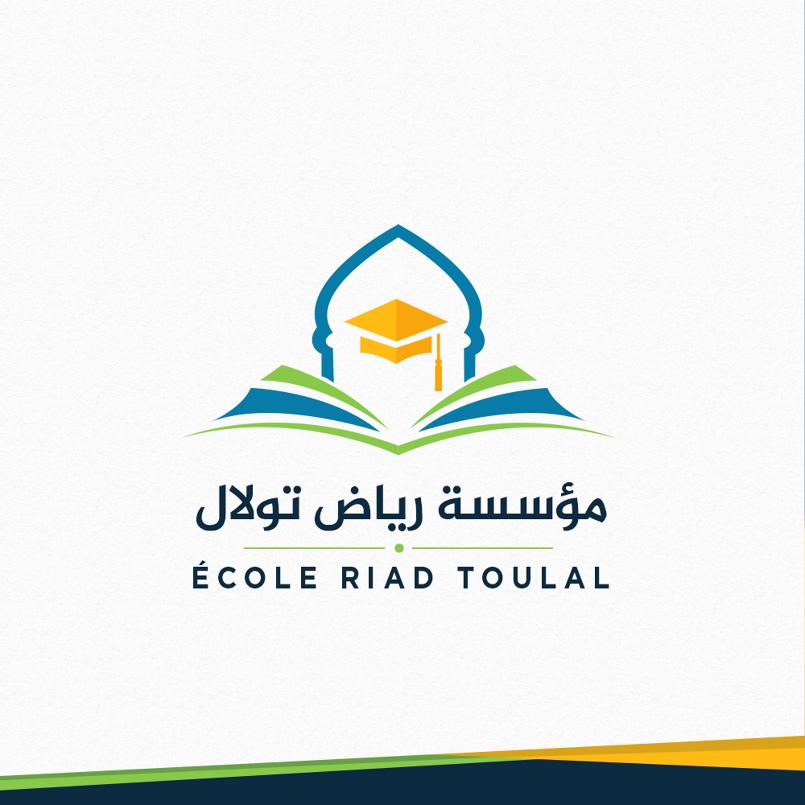 تصميم لمؤسسة تعليمية '' رياض تولال ''