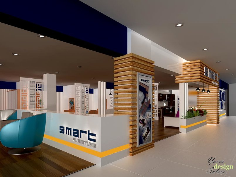 Showroom design for Smart furniture company