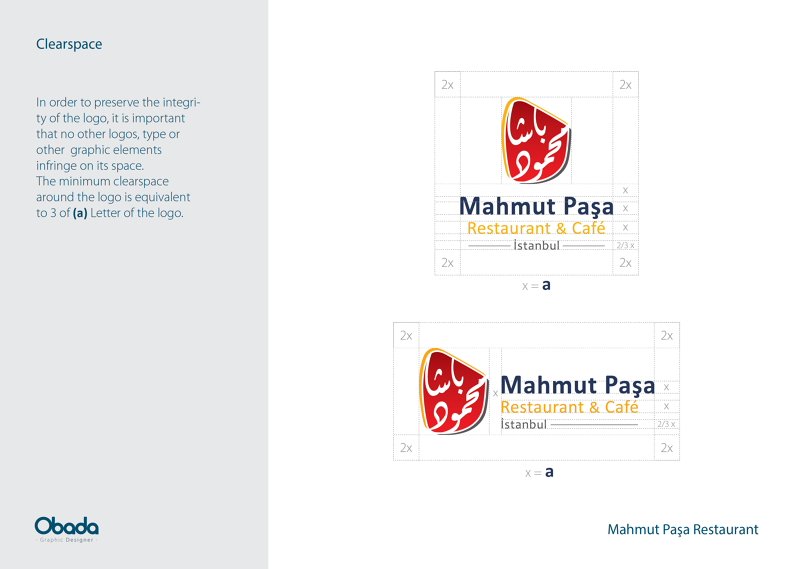 Mahmut Paşa Restaurant | Branding