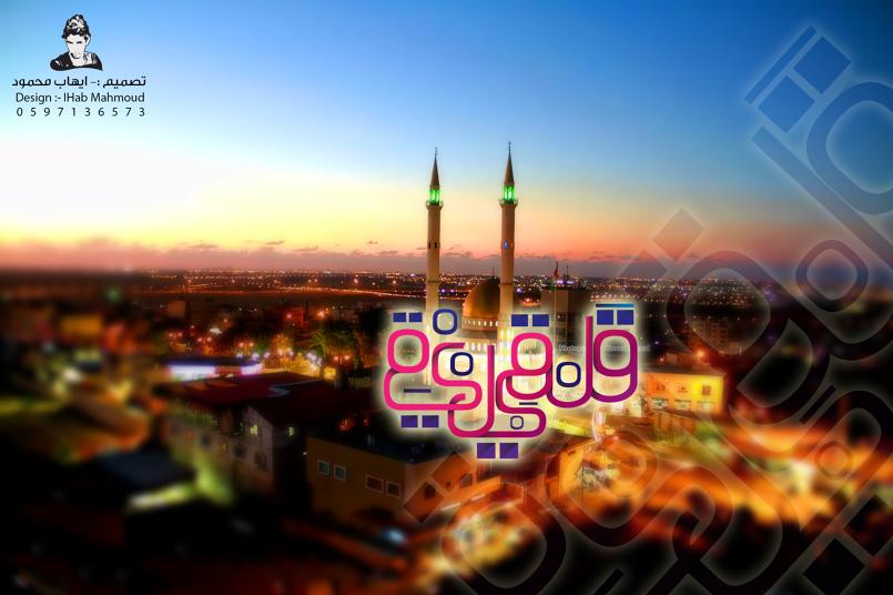 (مدينة قلقيلية تصميم ثاني ) فن التخطيط للمدن الفلسطينية