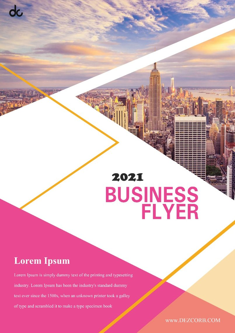 Business Flyer 2021
