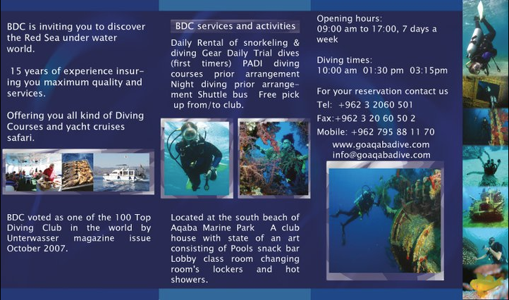 Bracuda Diving Center Project