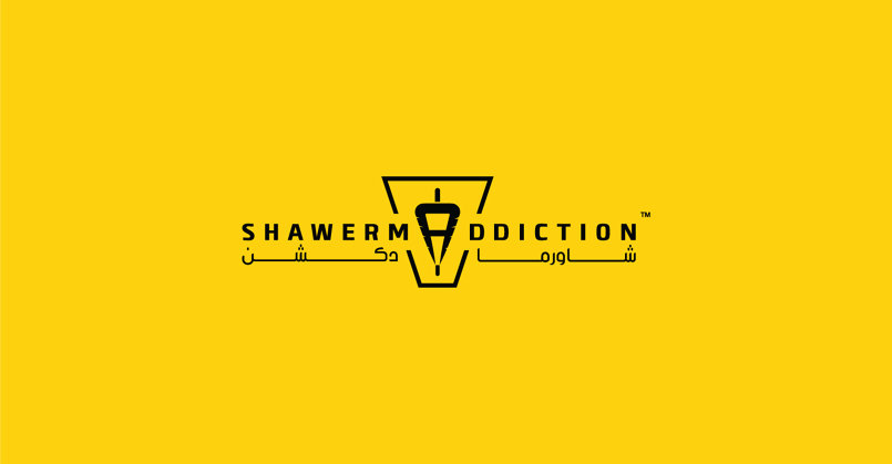 SHAWERMADDICTION Restaurant |logo