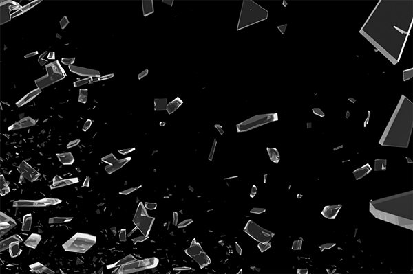Shutterd Glass