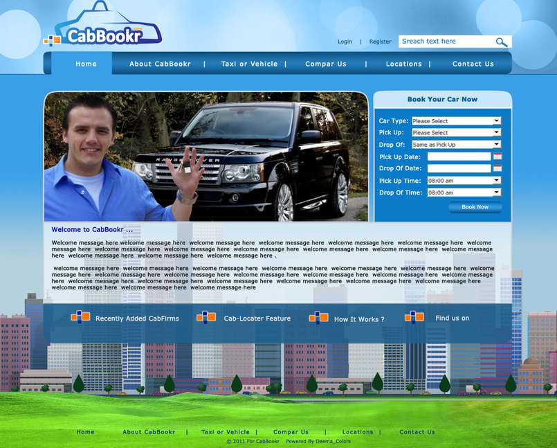 Email shots & real websites