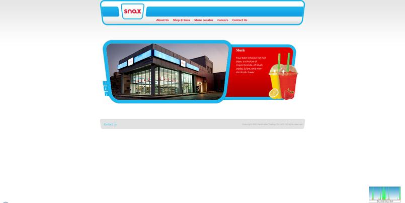 Snax website