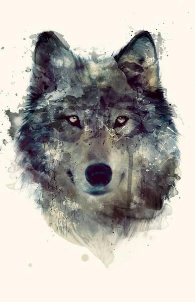 تصميم جديد للذئب