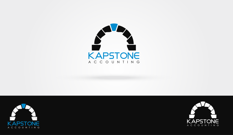 Kapstone Accounting Logo Design