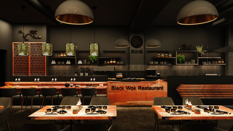 Black wok Restaurant