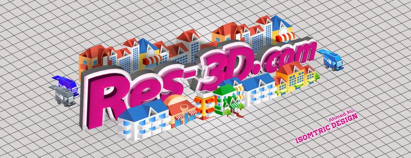 3D & Isometric Via Photoshop