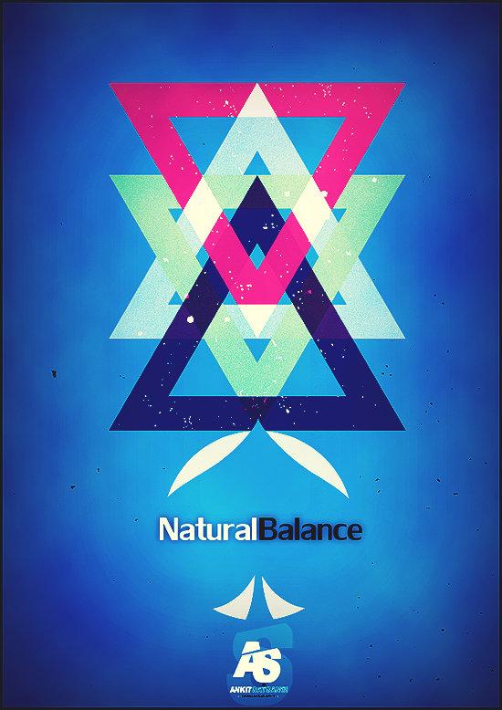 Natural Balance Poster Design