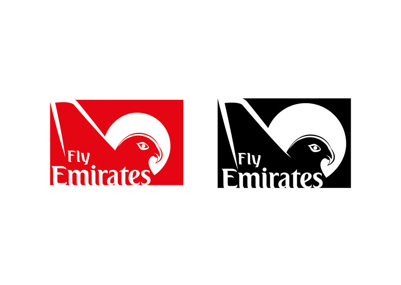 Fly Emirates Branding