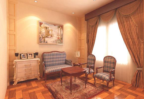 Villa seating area, 3dsmax 2012, Vray 2