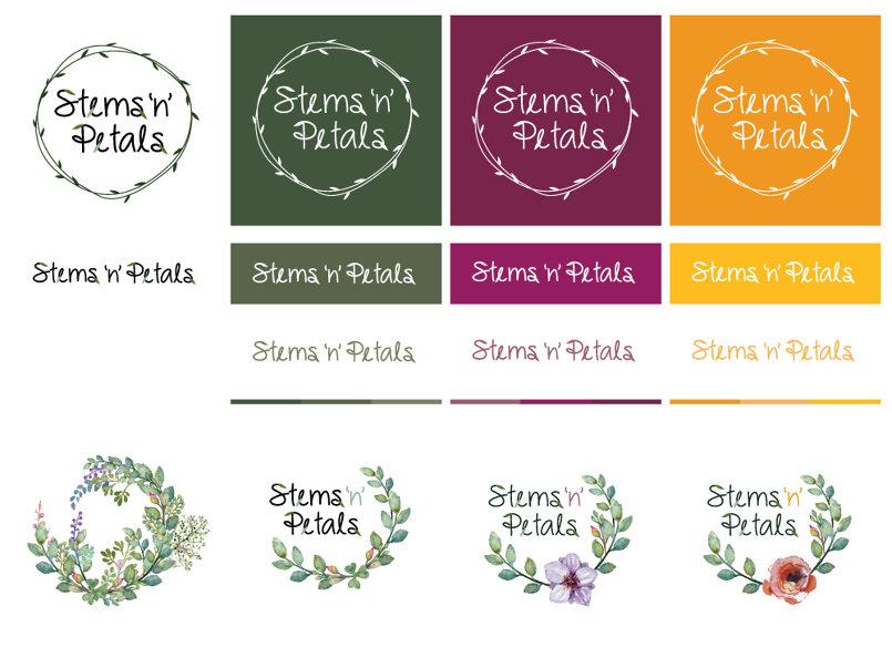 Stems 'n' Petals - Branding