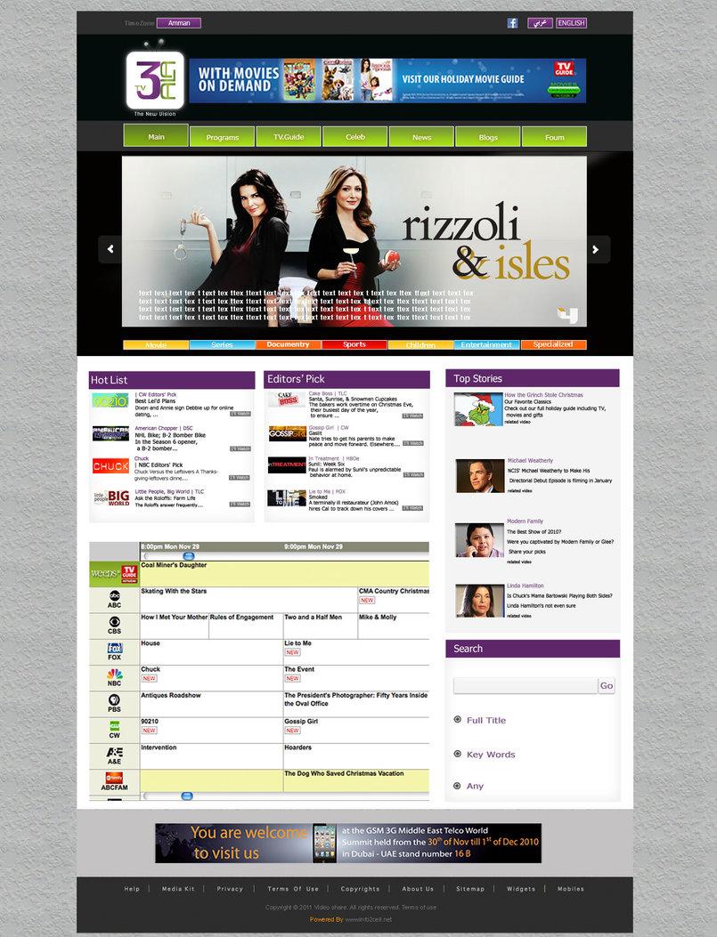3alatv.com Project