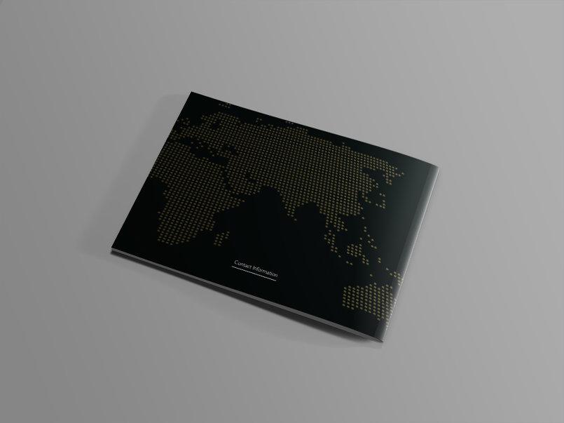 تصميم كتيب لشركة بالسعودية