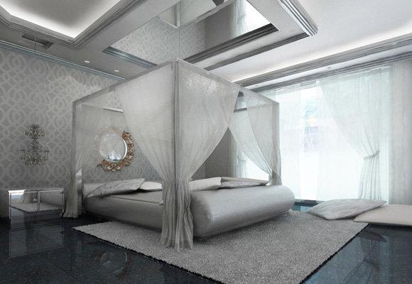 Bedroom, Al obaidi villa, 3dsmax 2011, vray