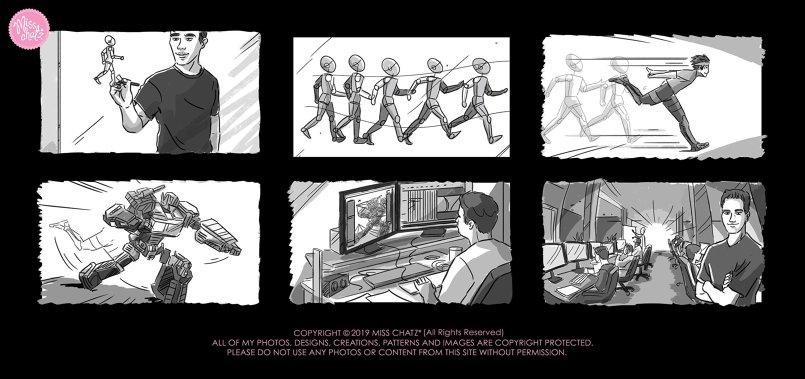 Misk Academy Storyboard