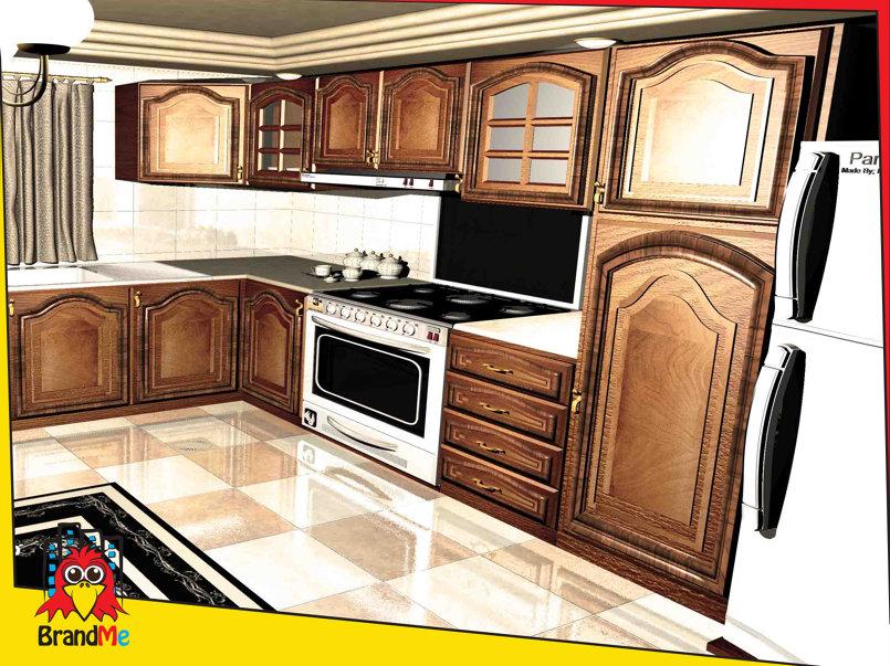 تصميم داخلي مطبخ