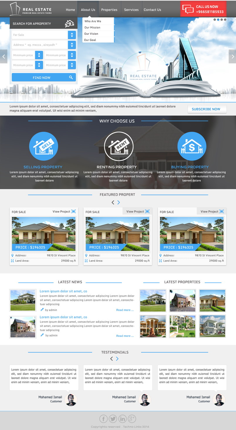 1 - Real Estate Project