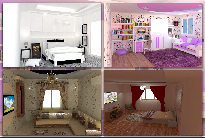 My first interior design ^^