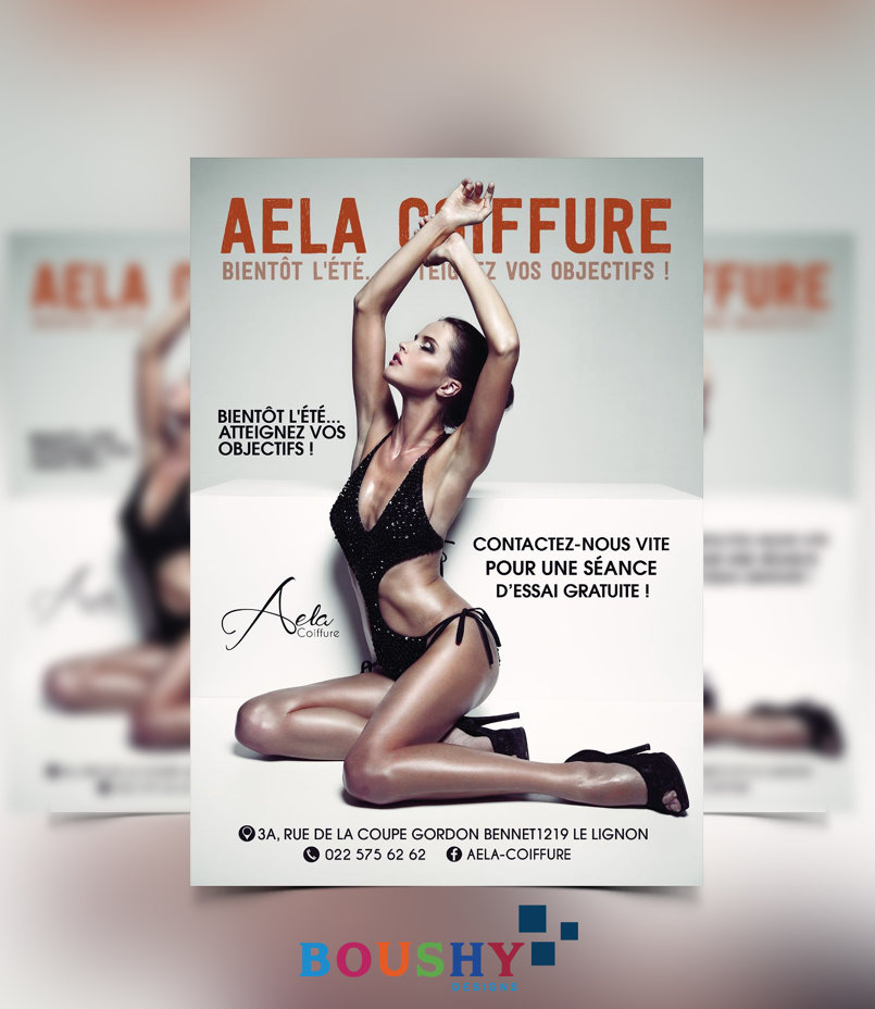 Aela Coffure ( France ) Flyer