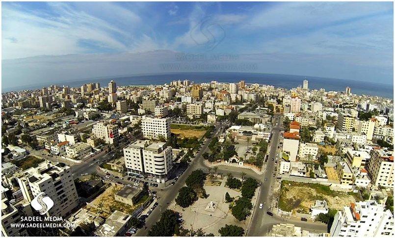 وسط مدينة غزة